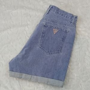 Vintage Guess Denim Shorts Mom Shorts